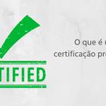 O que é uma certificação profissional?